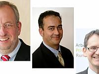 Hans-Dieter Hillmoth, Michael Richter, Felix Kovac (v.l.n.r.)