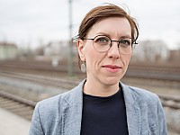 Katja Meier, Verkehrspolitische Sprecherin der Fraktion BÜNDNIS 90/DIE GRÜNEN im Sächsischen Landtag