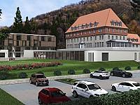 sonnenresort ETTERSHAUS - die denkmalgeschützte Villa von 1910 mit modernem Erweiterungsbau