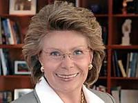 EU-Medienkommissarin Viviane Reding