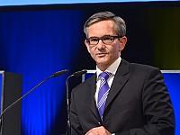 Dr. Michael Rombach, Vorsitzender der Produktions- und Technikkommission (PTKO) auf der IFA 2014