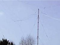 Antennenanlage für Lang,- Mittel-, Kurzwelle am Standort Burg bei Magdeburg