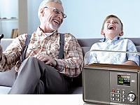 Das DR 860 Senior punktet mit seiner intuitiven Bedienung