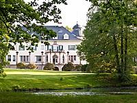 Das Gästehaus Wolfsbrunn in malerischer Schlosskulisse
