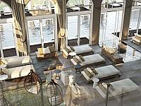 Architektenfoto vom neuen Spa in Fleesensee
