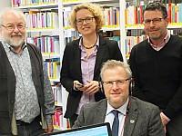 Alfred Wolfsteiner, Leiter Stadtbibliothek der Stadt Schwandorf