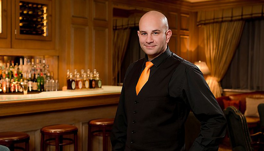 Benjamin Sperling, Cocktailchef im Regent Berlin