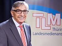 Jochen Fasco, Direktor der Thüringer Landesmedienanstalt und Vorstandsvorsitzender der Arbeitsgemeinschaft Medientreffpunkt Mitteldeutschland