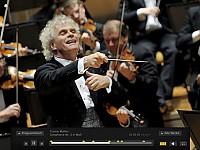 Sir Simon Rattle und die Berliner Philharmoniker live in der Digitalen Konzerthalle
