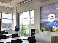 Die modernisierten Tagungsräume sind mit neuen LED-Präsentationsflächen ausgestattet