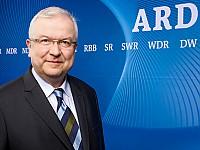 Johann Michael Möller, Vorsitzender der Hörfunk-Kommission der ARD und Hörfunkdirektor des MDR