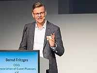 Bernd Fritzges, Vorstandsvorsitzender des Verbandes der Veranstaltungsorganisatoren (VDVO) bei der ITB