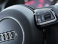 """Audi wirbt mit dem Slogan """"Vorsprung durch Technik"""" auch für seine Infotainment-Systme"""