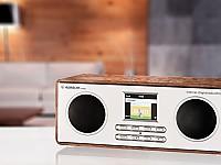 Albrecht DR 883: Hybridradio mit Farbdisplay und retrodesigntem Holzgehäuse