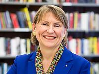 Barbara Lison, Bundesvorsitzende des Deutschen Bibliotheksverbandes e.V. und Ltd. Bibliotheksdirektorin der Stadtbibliothek Bremen