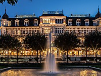 Die prunkvolle Fassade des Ahlbecker Hof - Flaggschiff der SEETELHOTELS Usedom