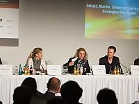 Podiumsdiskussion zum Thema Radiozukunft beim Medientreffpunkt Mitteldeutschland