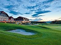 Morgenstimmung über dem Spa & GolfResort Weimarer Land