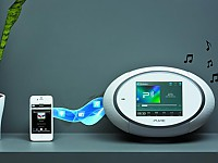 Hier spielen Internet- und Digitalradio bereits gut zusammen: Pure Sensia 200D Connect
