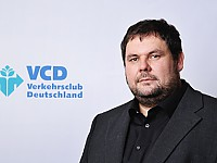 "Rainer Hauck, Projektleitung ""Pedelec statt Auto - aber sicher!"" Verkehrsclub Deutschland e.V. (VCD)"