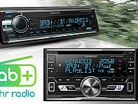 Kenwood setzt beim Car Infotainment konsequent auf DAB+ und überrascht mit innovativen Bluetooth-Funktionen