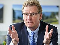 Dr. Bernd Buchholz, Minister für Wirtschaft, Verkehr, Arbeit, Technologie und Tourismus des Landes Schleswig-Holstein