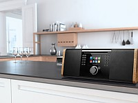 Allround-Talent Palona JOJO mit Subwoofer, DAB+, Internetradio, Spotify Connect, Bluetooth 4.0 und CD