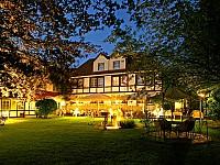 Romantische Abendstimmung im Braunschweiger Hof