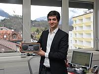 Patric Perret, Leiter Technik Radio Berner Oberland AG