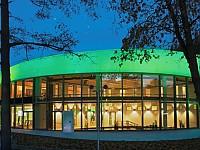 Außenansicht der 2015 eröffnete Soletherme in Bad Elster