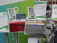 Kluge Programm-Promotion in einem Elektrofachmarkt in Mitteldeutschland anlässlich der DAB+ Programmaufschaltung in Leipzig.