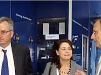 v.l.n.r.: Dirk Risse (HDR), Carmen Kautner (HDR), Dr. Wolfgang Sieber (hr)