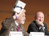Dr. Willi Steul, Intendant Deutschlandradio und Helmut G. Bauer, Geschäftsführer Digitalradio Deutschland GmbH