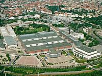 Das Berliner Messegelände aus der Luft