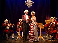 Mozart auf der Bühne des König Albert Theaters Bad Elster
