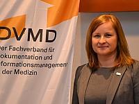 Annett Müller - Vorsitzende, DVMD - Der Fachverband für Dokumentation und Informationsmanagement in der Medizin