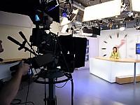 Studioalltag bei Bahn TV