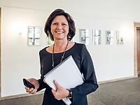 Ilse Aigner (CSU), Bayerische Staatsministerin für Wirtschaft und Medien, Energie und Technologie und Stellvertretende Ministerpräsidentin