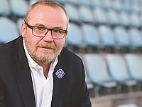 Holger Stenger, Sprecher des Vorstands SV Viktoria 01 e.V. Aschaffenburg