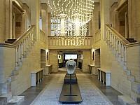 Elegant gestalteter Eingangsbereich im Das Stue