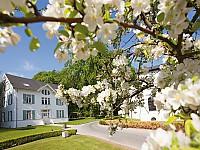 Kindervilla des Grand Hotels Heiligendamm im Frühling