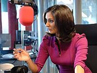 Attraktive Stimme der BBC aus London