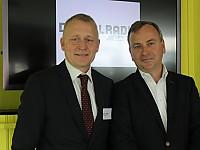 Uwe Ludwig, Uwe Ludwig, Leiter Key Account Management Radio bei Media Broadcast, Thomas Fuchs, Direktor der MA HSH