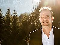 Christoph Marti betreibt mit Herz und Seele das Genuss- und Selfnesshotel Ritzlerhof im Ötztal