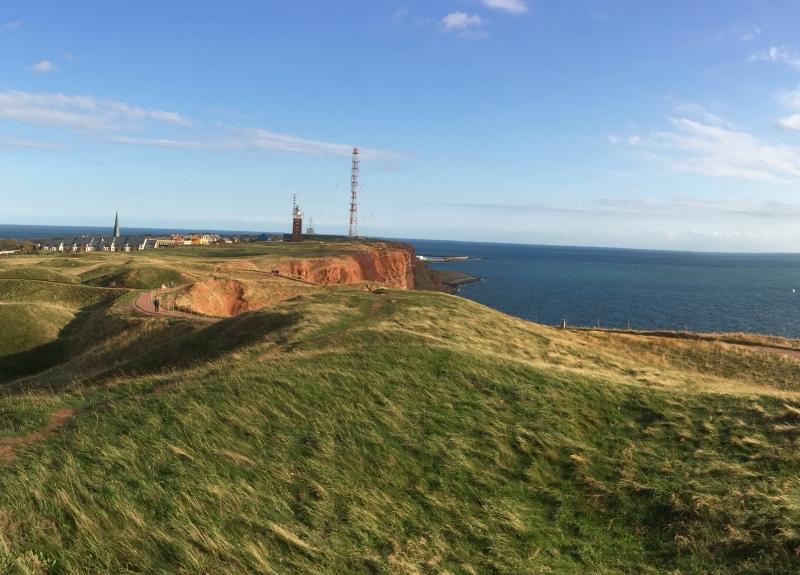 Sendeanlagen auf Nordseeinseln müssen besonderen Anforderungen genügen - hier: Helgoland
