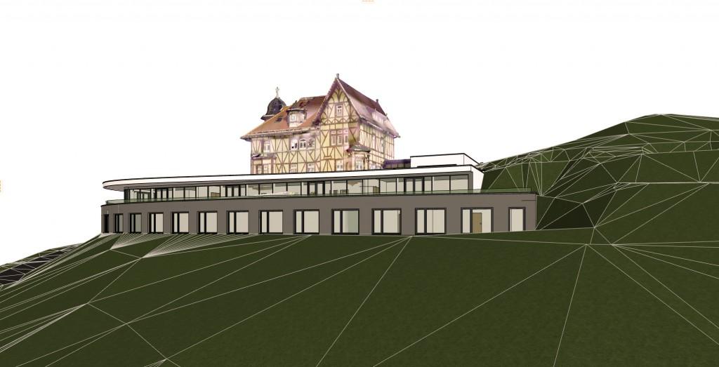 Das Architekturbüro Klima aus Nordhausen hat den Erweiterungsbau entworfen