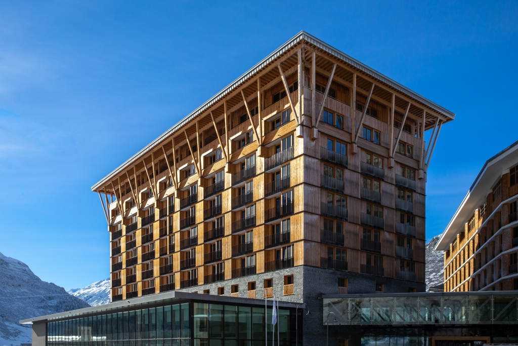 Das Radisson Blu Hotel Reussen ist das Mutterhaus der Konzerthalle