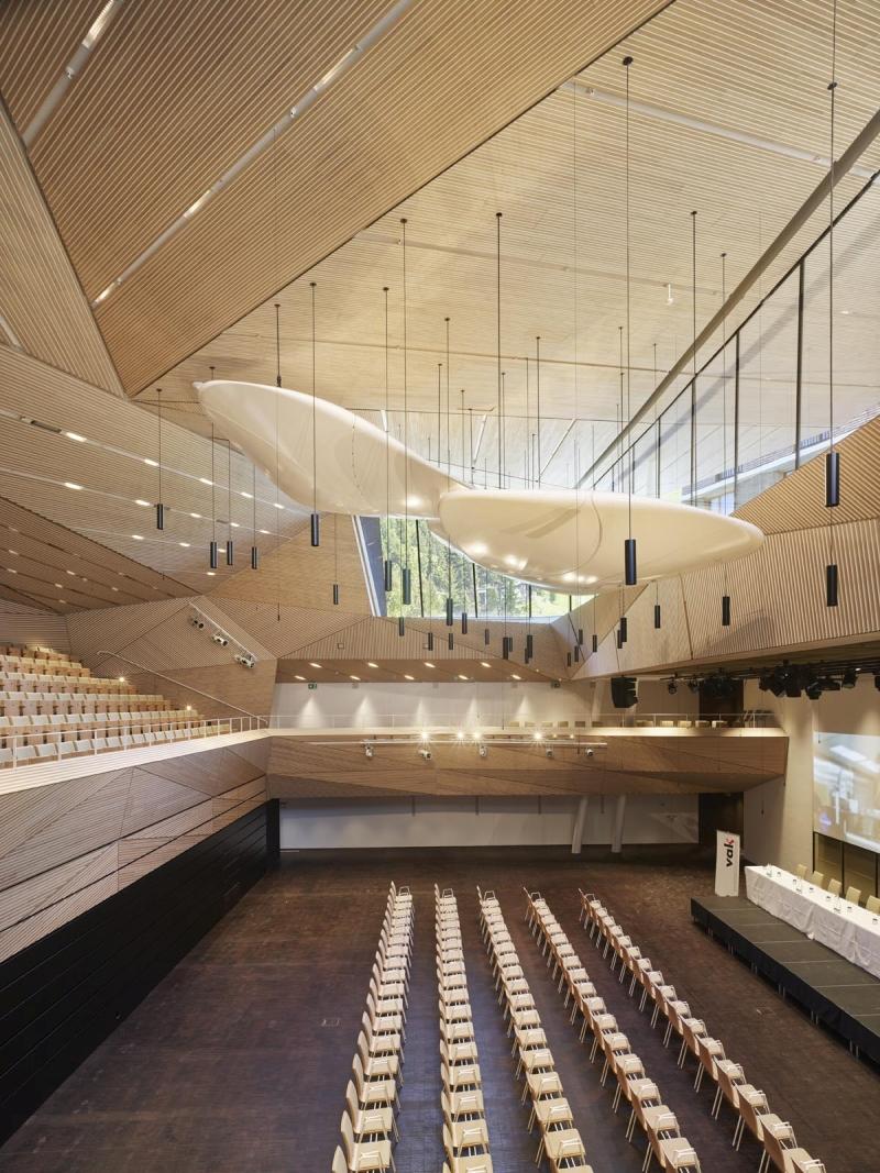 Der Konzertsaal lässt sich auch als multifunktionale Veranstaltung-Location nutzen