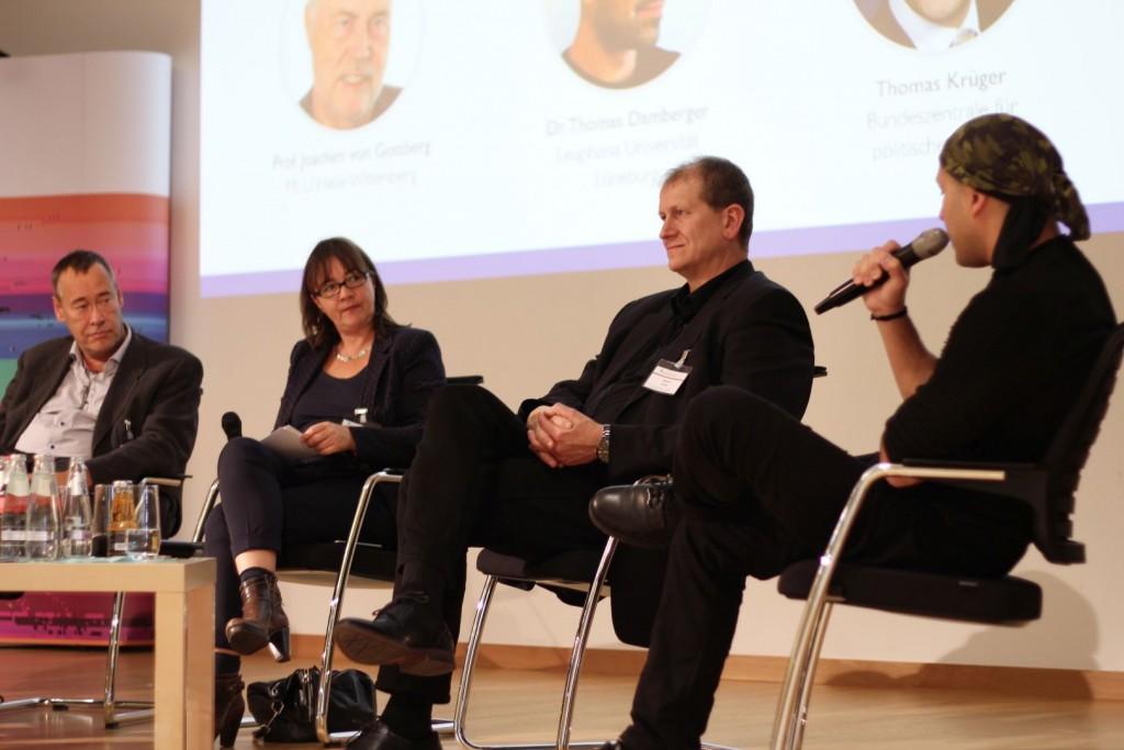 Paneldiskussion mit MSA-Direktor Martin Heine auf 5. Netzwerktagung 2019