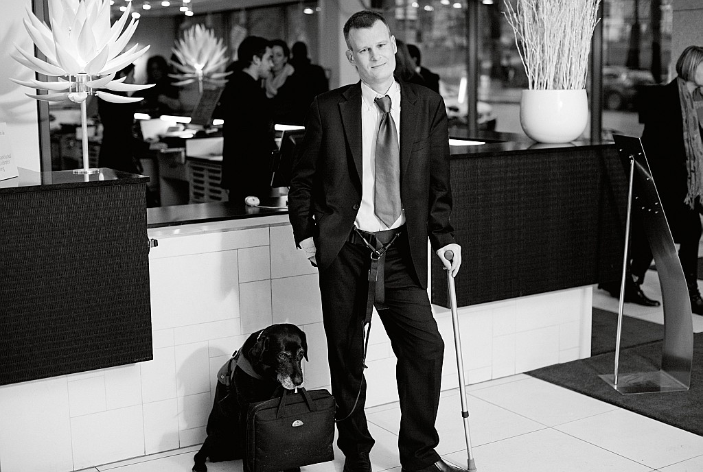 Einmalig in der Hotelbranche: Botschafter für Barrierefreiheit der Scandic Gruppe Magnus Berglund